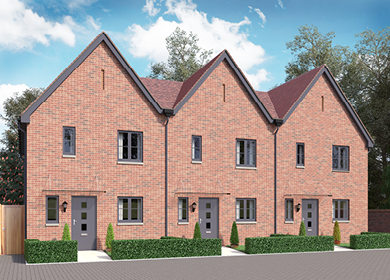 New Homes Kings Weald Burgess Hill Keymar Tiles